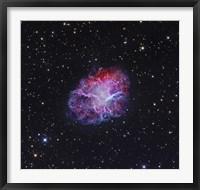 Framed Crab Nebula