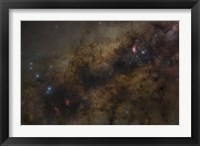Framed Galactic Center of the Milky Way Galaxy