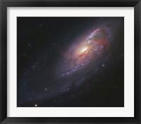 Framed Spiral Galaxy in Canes Venatici