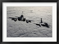 Framed Dassault Rafale B of the French Air Force