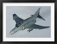 Framed Luftwaffe F-4F Phantom II (from above)