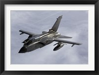 Framed Luftwaffe Tornado IDS over northern Germany (side view)