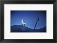Framed Stealing the Moon