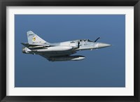 Framed Mirage 2000C of the French Air Force (side view)