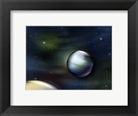 Framed Planets in Space
