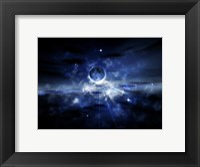 Framed Blue Planet