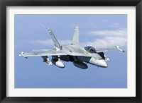 Framed CF-188A Hornet of the Royal Canadian Air Force (front view)