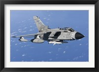 Framed Italian Air Force Tornado IDS armed with AGM-88 HARM missiles