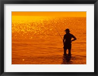 Framed Fishing, Surfer's Paradise, Australia