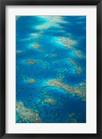 Framed Undine Reef, Great Barrier Reef, Queensland, Australia