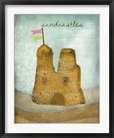 Sandcastles Framed Print