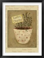 Framed Easter Thyme
