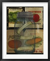 Framed Kitchen Jar