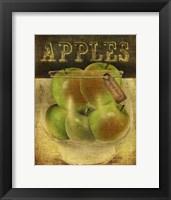 Grannysmith Apples Framed Print