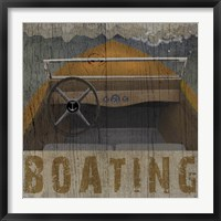 Framed Boating