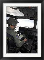 Framed Pilot in a CV-22 Osprey