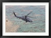Framed HH-60G Pave Hawk Along the Coastline of Okinawa, Japan