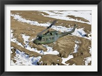 Framed UH-1N Twin Huey, New Mexico