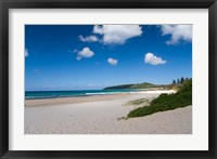 Framed Australia, Byron Bay's beautiful turquoise beaches