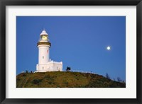 Framed Byron Bay, Australia Lighthouse landmark