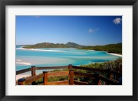 Framed Whitsunday Islands, Australia