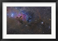 Framed Nebulosity in the Taurus Constellation