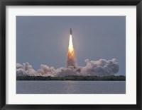 Framed Launch of Space Shuttle Atlantis