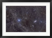 Framed Galaxies M81 and M82
