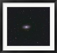 Framed Black Eye Galaxy