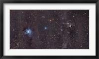 Framed Iris Nebula in Cepheus