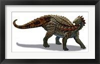 Framed Scelidosaurus Dinosaur of the Early Jurassic Period