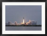 Framed Space Shuttle Atlantis (final launch)