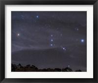 Framed Orion Constellation Rises