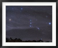 Framed Orion Constellation Rises