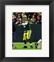 Framed Aaron Rodgers 2014 Green Bay Packers