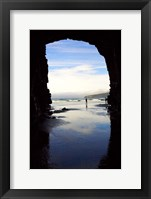 Framed Cathedral Cave, Catlins Coast, South Island, New Zealand
