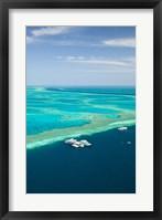 Framed Australia, Whitsunday Coast, Great Barrier Reef (vertical)