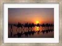Framed Cable Beach, Broome, Kimberley, Australia