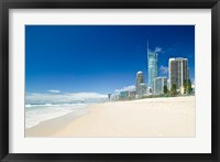 Framed Australia, Gold Coast, Surfer's Paradise Beach