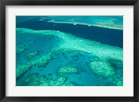Framed Australia, Whitsunday Coast, Great Barrier Reef (horizontal)