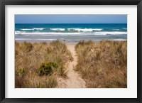 Framed Australia, Victoria, Great Ocean Road, Beach
