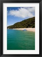Framed Kaiteriteri Beach, Abel Tasman Park, New Zealand
