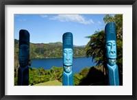 Framed Lochmara Lodge, Marlborough Sounds, New Zealand