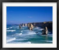 Framed Great Ocean Road, The Twelve Apostles, Victoria, Australia