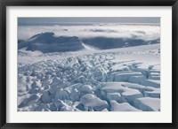Framed Fox Glacier, West Coast, South Island, New Zealand