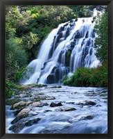 Framed Cascade, Karangahake Gorge, North Island, New Zealand