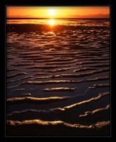 Framed Coast at sunset, Abel Tasman National Park, New Zealand