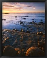 Framed Sunset, Tasman Bay, South Island, New Zealand