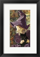 Framed Three Wishes - Witch Way, Black Cat