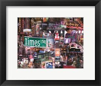 Framed Crossroads of the World